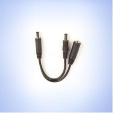 "Voltage Doubler cable: straight  4""/10cm"